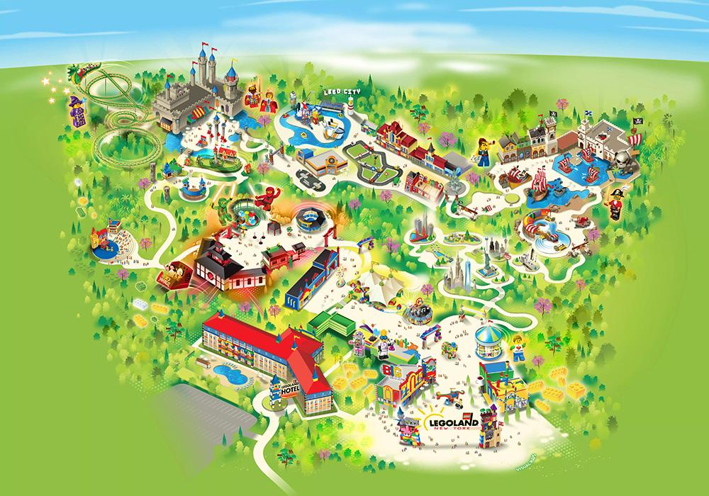 Mapa do Legoland