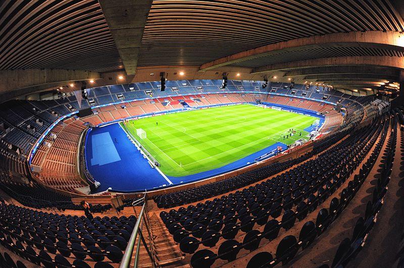 Estádio Parc des Princes, casa do Paris Saint+Germain