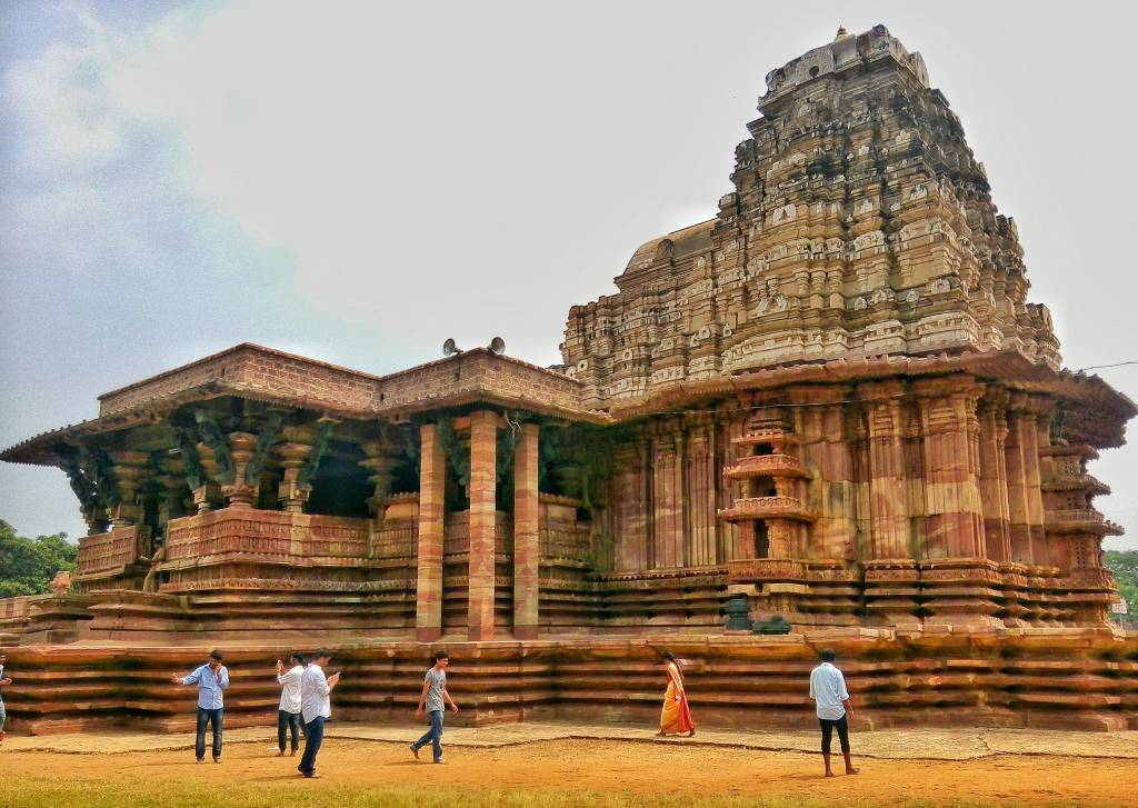 Templo Ramappa, na Índia
