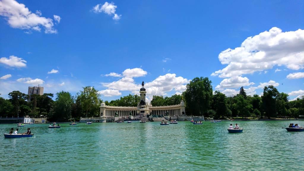 Parque El Retiro, Madrid, Espanha
