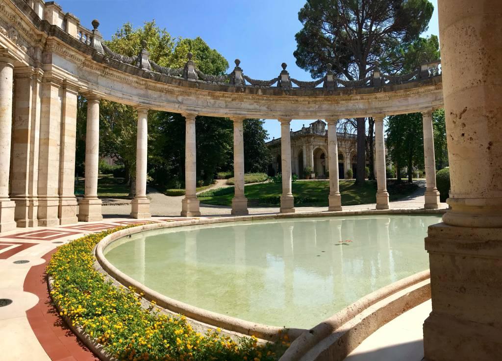 Águas termais em Montecatini Terme, na Toscana, Itália