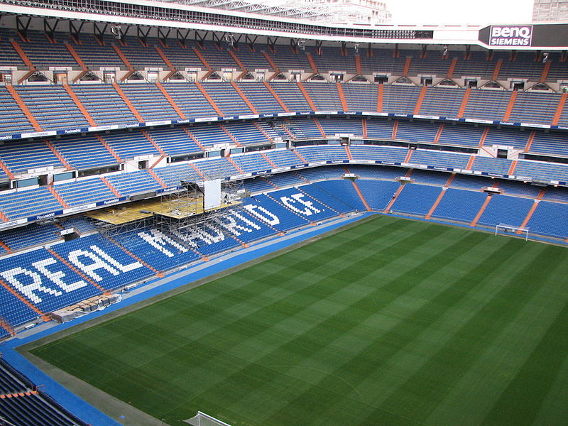 Estádio Santiago Bernabeu passa por reformas com previsão de conclusão em 2022