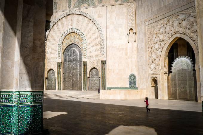 Mesquita Hassan, Casablanca, Marrocos