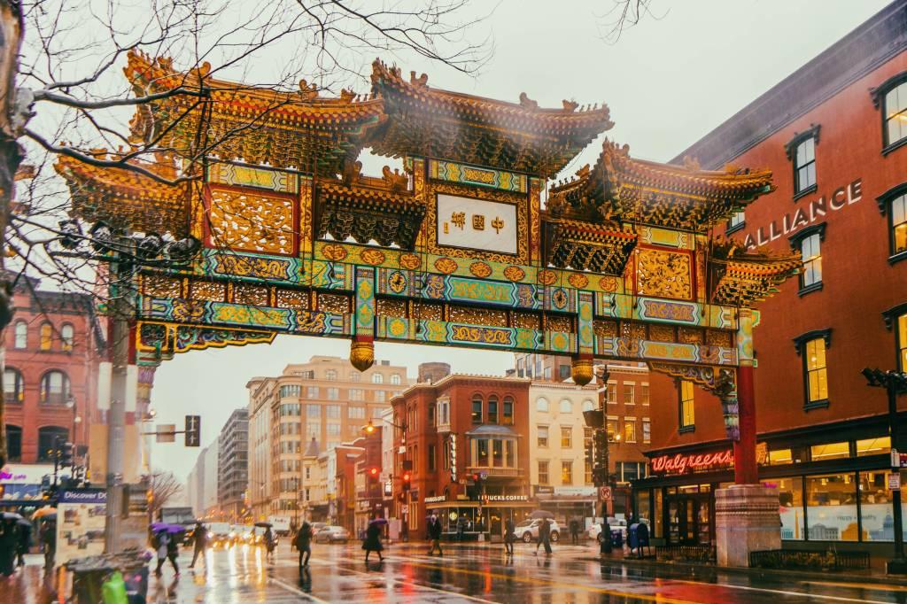 Friendship Archway na Chinatown de Washington D.C.