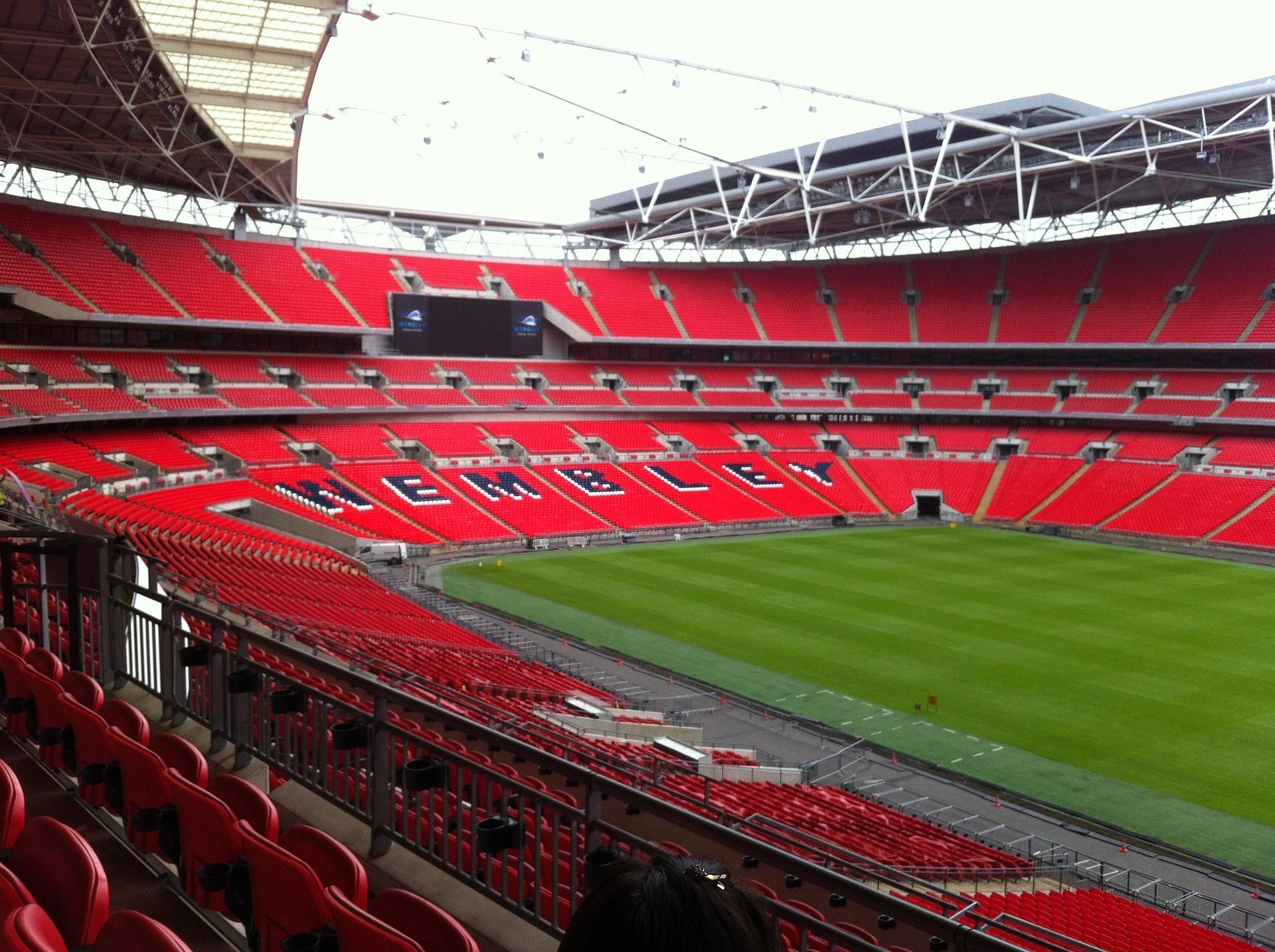 Novo estádio de Wembley, inagurado em 2007 em Londres