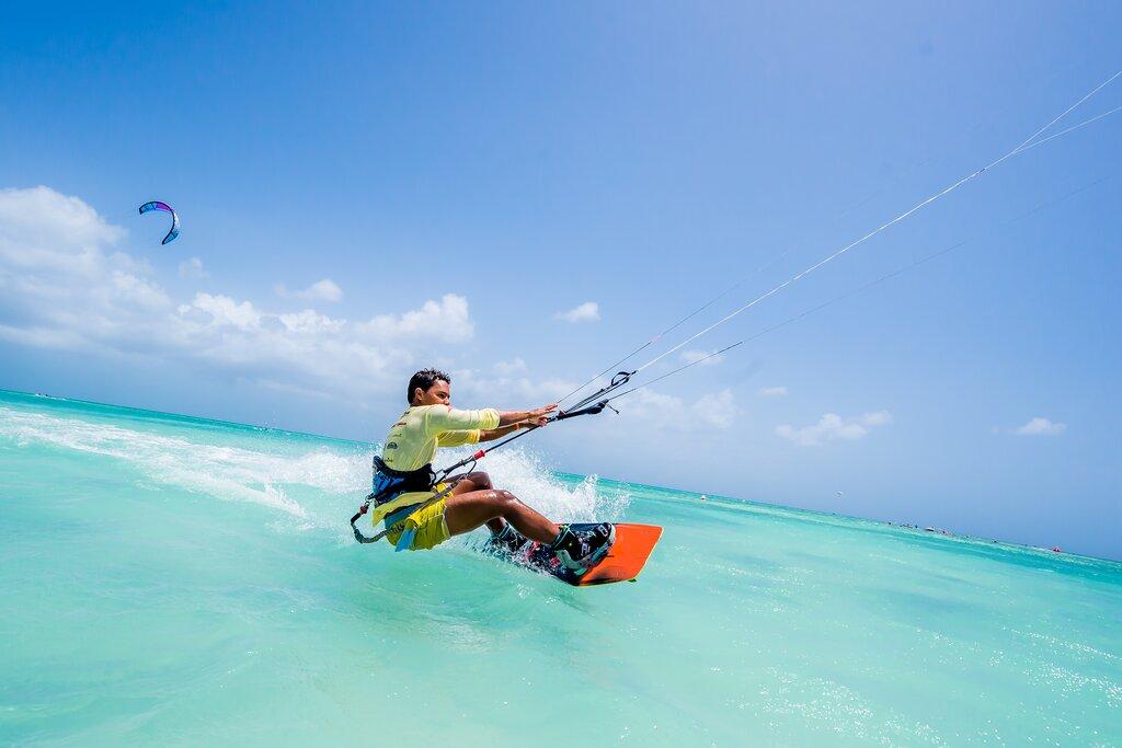 Kitesurfe, Aruba, Caribe