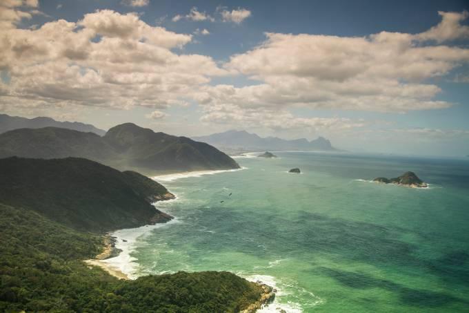Vista da Pedra do Telégrafo, Rio de Janeiro, Brasil