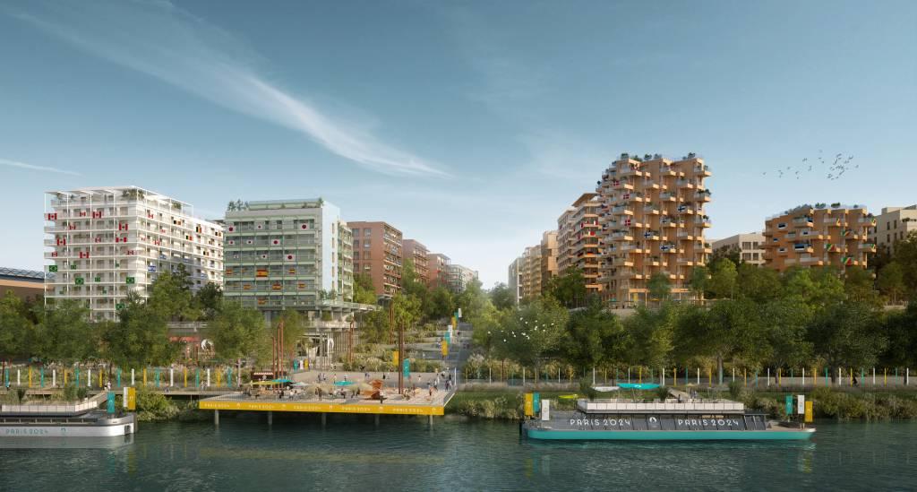 Vila Olímpica dos Jogos Olímpicos de Paris em 2024