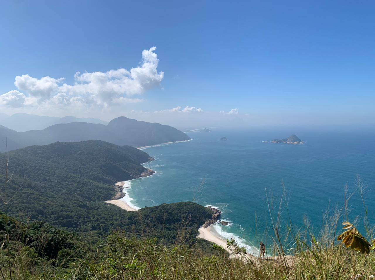 Vista da pedra do Urubu