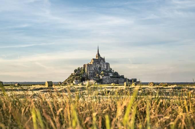 Mont Saint-Michel, Normandia, França