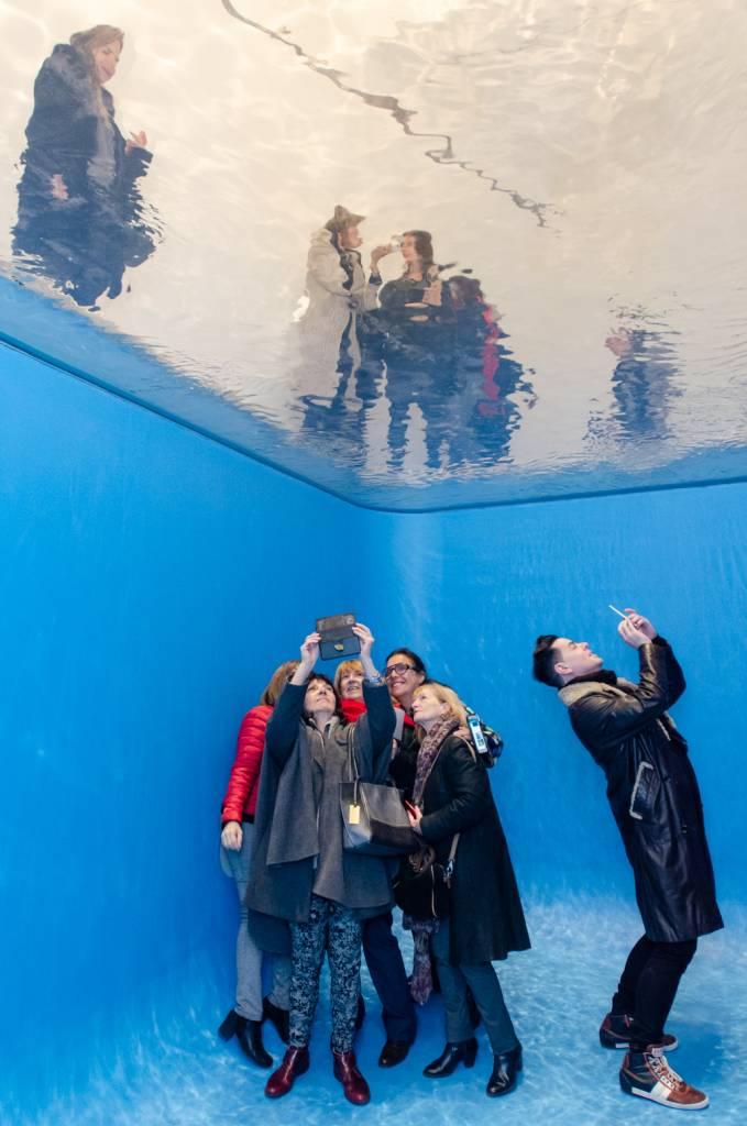 Exposição do Erlich, obra Swimming Pool
