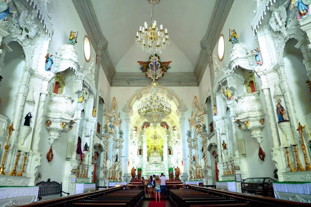 Igreja de Nossa Senhora do Carmo, em Ouro Preto, Minas Gerais