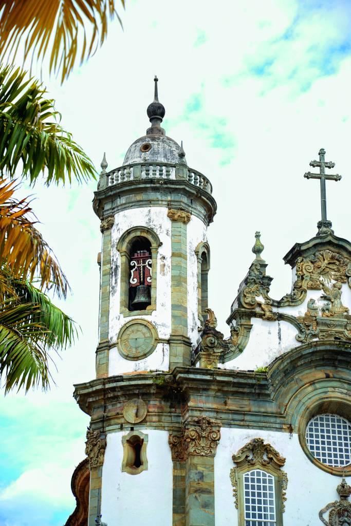 Igreja de São Francisco de Assis, em São João del Rei, Minas Gerais