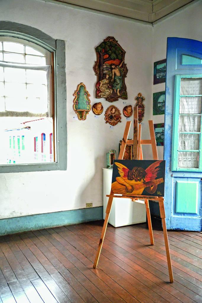 Casa dos Artistas Mestre Ataíde em Mariana, Minas Gerais