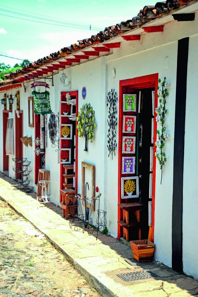Loja de artesanato, Bichinho, Minas Gerais