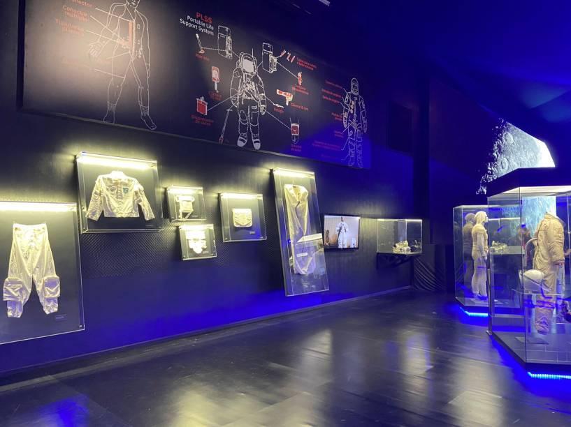 Roupas usadas pelos astronautas durante as missões Apollo