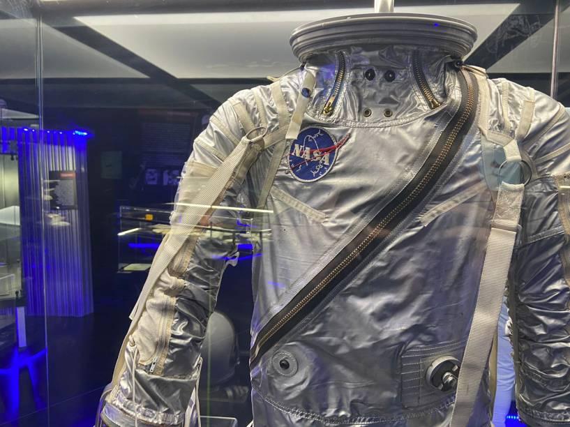 Detalhe de um dos trajes espaciais da Nasa