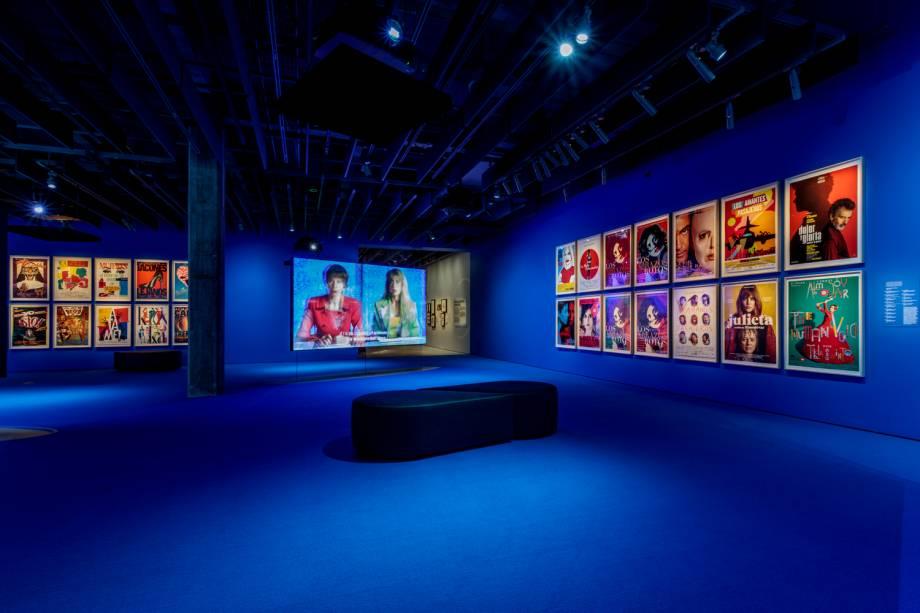 Uma seção dedicada ao cineasta espanhol Pedro Almodóvar