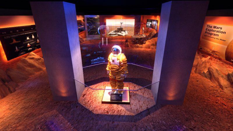 """Exposição """"Futuro Espacial"""""""