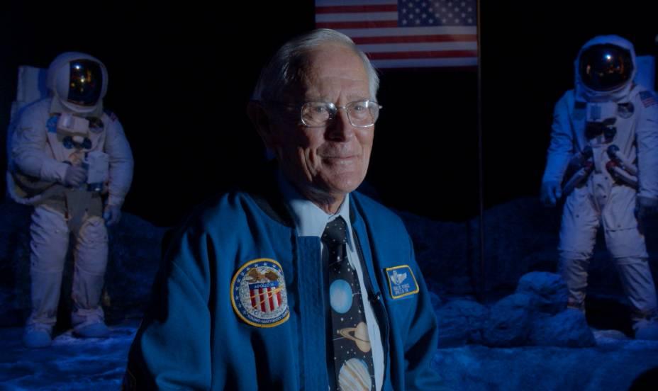 Charles Duke, um dos três homens ainda vivos que pisaram na Lua, esteve em São Paulo para a inauguração da Space Adventure